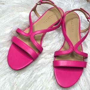 Talbots Pink Strappy Sandals size 8